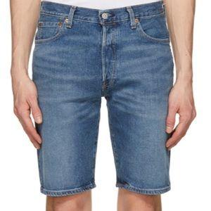 Levi's 501 Medium Wash Shorts